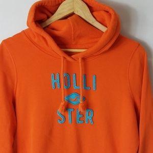 Orange Hollister Hoodie